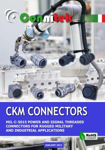 Catalogo Connitek CKM connettori di potenza a vite MIL-DTL-5015G Militare - Industriale (43.98 MB)