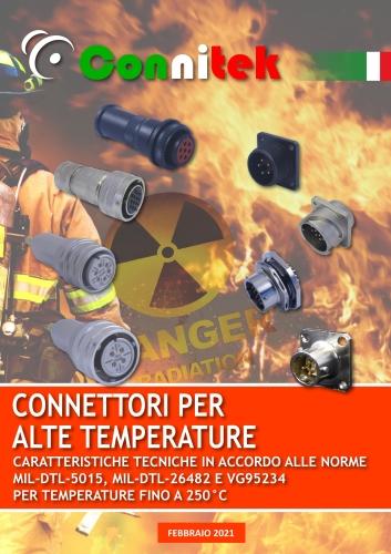 Catalogo Connitek connettori per alte temperature a baionetta MIL-DTL-5015 Industriale (56.47 MB)