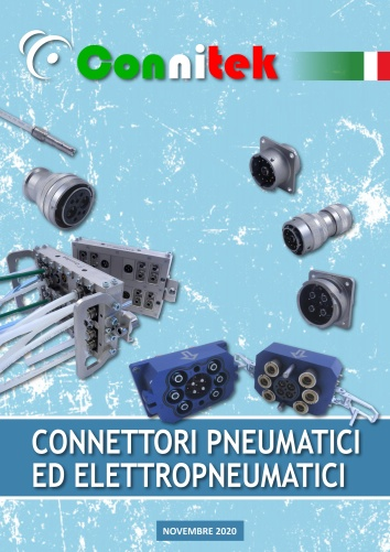 Catalogo Connitek connettori elettropneumatici ibridi elettrici e pneumatici a baionetta MIL-DTL-5015 Industriale (40.44 MB)