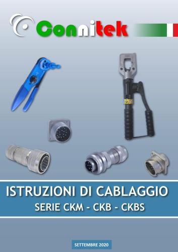 Istruzioni di Cablaggio Serie CKM-CKB-CKS (4.73 MB)