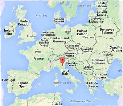 Connitek in Europa Mappa